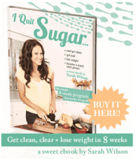 I Quit Sugar Cookbook - Buy Here